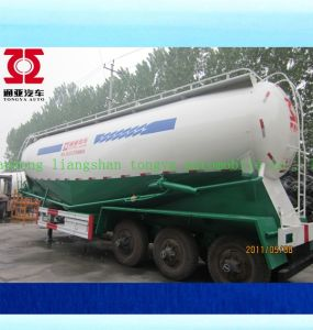 Bulk Cement Semi Trailer with 13 Meter Length V-Type Tank pictures & photos