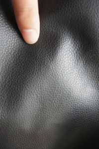 PU Synthetic Floter Emboss Leather pictures & photos