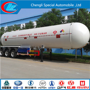 56cbm 3 Axle Tank Semi LPG Tanker Trailer for Propane pictures & photos