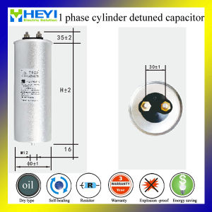Single Phase PU Resin Di-Electrical Filter Power Capacitor pictures & photos