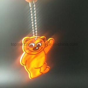 Cute Bear PVC Reflector Reflective Pendant pictures & photos