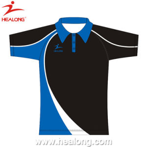 Healong Stylish Sublimated Printing Polo Barong pictures & photos