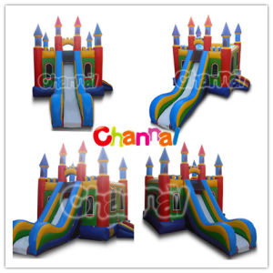 Castle Slide Combo/Inflatable Bouncer Slide Bb076 pictures & photos