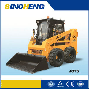 Mini Skid Steer Loader, Mini Digger with CE Jc75 pictures & photos