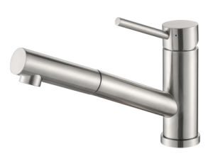 Brushed Nickel PVD Finished Pull out Kitchen Faucet pictures & photos
