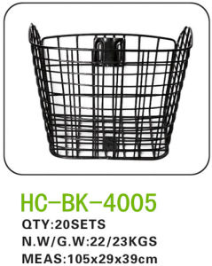 Iron Bicycle Basket for All Kinds of Bicycle (BK-4005) pictures & photos