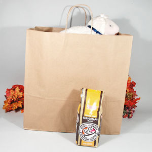 Colorful Kraft Paper Gift Bag Wedding Party Handle Paper Gift Bags Color Printing Kraft Paper Gift Bag Kraft Paper Bags, Shopping, Mechandise, Party, Gift Bag pictures & photos