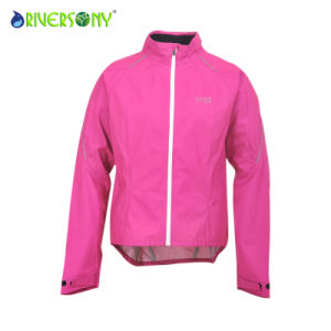 Women′s Cycling Jacket, 3 Layer 20d Nylon pictures & photos