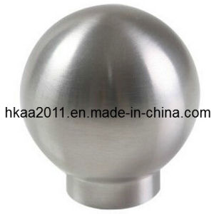 Precision Custom Stainless Steel Polished Ball Furniture Knob pictures & photos