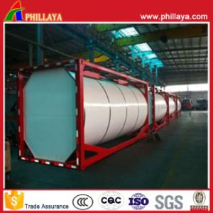 20FT Chemical Liquid LNG CO2 LPG Fuel Tank Container pictures & photos