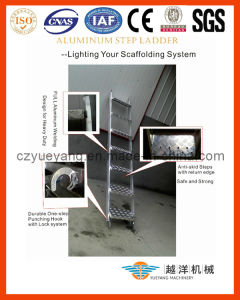 Aluminum Scaffolding Step Ladder in Light Weight pictures & photos