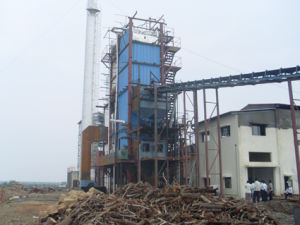Rice Husk, Wood Dust, Palm Shell Biomass Fired Steam Heater pictures & photos