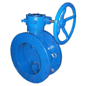Customized Casting Valve Parts with Blue Painting pictures & photos