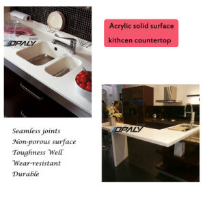 Artificial Stone Acrylic Solid Surface Sheet (OA 918) pictures & photos