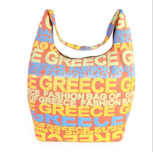 Foreign Trade Handbags Fashion Letter Canvas Bag Multi - Functional Shoulder Bag Large Capacity Mummy Bag pictures & photos