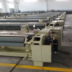 Double Nozzle Water Jet Loom Machine with Dobby/Cam Shedding pictures & photos