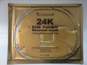 24k Gold Collagen Anti Aging Facial Mask pictures & photos