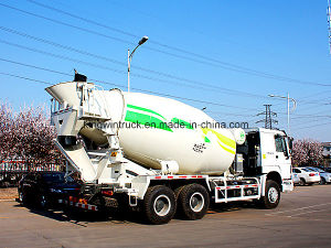 Sinotruk HOWO Brand 6X4 Driving Concrete Mixer Truck pictures & photos