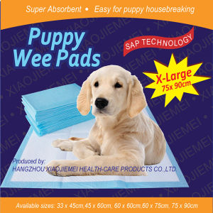 Biodegradable Eco Friendly Puppy Wee Wee Training Pads (6060-2) pictures & photos