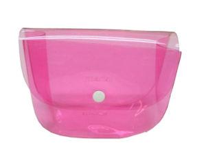 Premium High Quality Zipper PVC Plastic Bags for Cosmetics (FLC-9112) pictures & photos