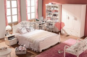 2012 Warm Bedroom Furniture for New Couple (606)