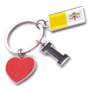 New Custom Metal Souvenir Vatican Keyring pictures & photos