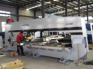 CNC Servo Turret Punching Machine /Profile Punching Machine pictures & photos