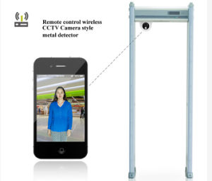 Security Body Scanner Walk Through Metal Detector for Airport pictures & photos
