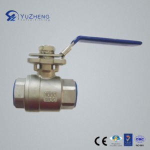 Stainless Steel Ball Valve with Mountaining Pad pictures & photos