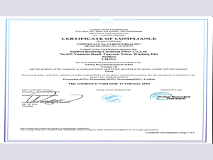 Grs Certificated Yarn for Weaving pictures & photos