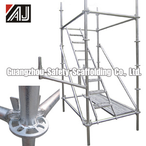 Galvanized Steel Multidirectional Scaffolding, Guangzhou Manufacturer pictures & photos