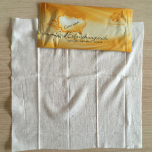 Wholesale Single Packed Airline Wet Tissues Refreshing Wet Towels pictures & photos
