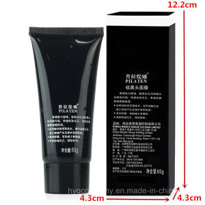 Pilaten Deep Cleansing Purifying Peel off Nose Blackhead Remover Mask Acne Treatments Suction Black Facial Mask pictures & photos