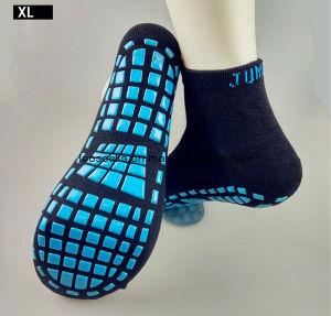 Custom Anti Slip Kids Jump Trampoline Sport Socks pictures & photos