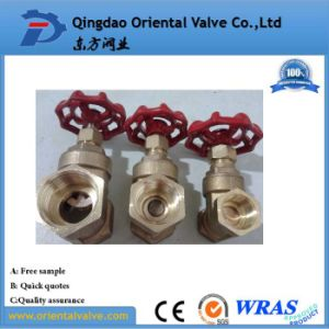 Dn15 - Dn100 Bronze Rising Stem Type Flange Gate Valve pictures & photos