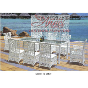 Leisure Rattan Outdoor Modern Patio Dining Table for Garden