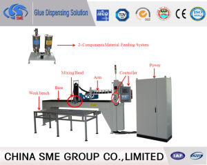 Ce Endorsed Polyurethane Foaming Machine for LED Light pictures & photos