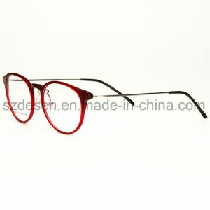 Wholesale Selling High Quality Plastic Steel Eyewear Optical Frames pictures & photos