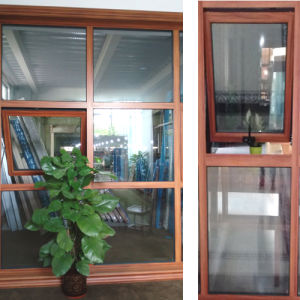 Aluminum Top Hung Window with Toughened Glass pictures & photos