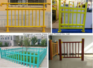 Light Weight Easy Installation FRP Pultruded Handrail, FRP Fencing