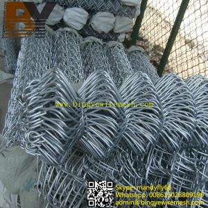 Hot-Dipped Galvanized Diamond Metal Fence pictures & photos