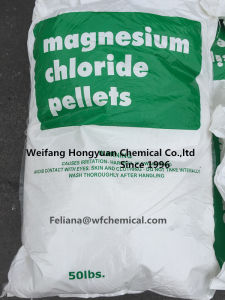 Magnesium Chloride Prill/Flakes for Ice Melt pictures & photos