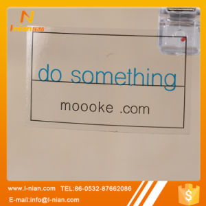 Custom Printing Transparent Logo Sticker