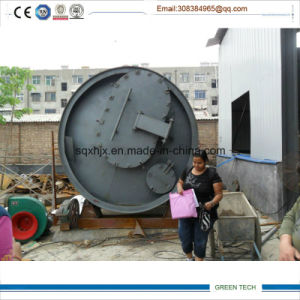10ton Used Tire Recycling Machine Pyrolysis Machinery Exported to Lebanon pictures & photos