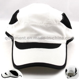 Comfortable Stretchable Polyester Microfiber Racing Sport Cap (TRNR086-1) pictures & photos