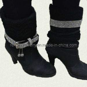 The Lastest Style Rhinestone Buckle Boots Chain (HWY20852)