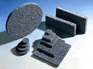 Carborundum Foam Ceramic Filter for Molten Aluminum or Iron Filtration pictures & photos