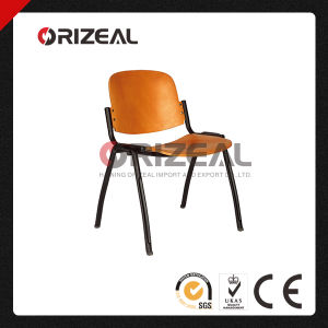 Elegant Bent Wood Student Chair, School Chair with Metal Frame pictures & photos