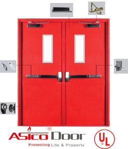 American UL Standard 10b, 10c and Ubc 7-2 Safety Door pictures & photos