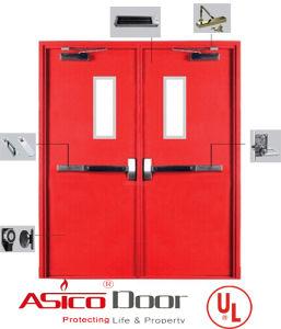 Fireproof Door Steel Door with American UL Standard 10b, 10c and Ubc 7-2 Safety Door pictures & photos
